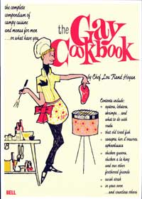 The Gay Cookbook - 11 x 17 Retro Book Cover Poster
