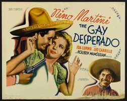 Gay Desperado, The - 22 x 28 Movie Poster - Half Sheet Style A