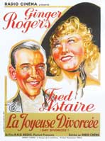 The Gay Divorcee - 11 x 17 Movie Poster - French Style A