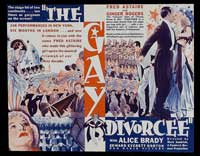 The Gay Divorcee - 11 x 17 Movie Poster - Style B