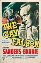 The Gay Falcon - 27 x 40 Movie Poster - Style B