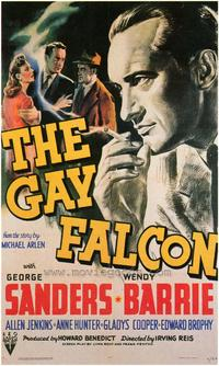 The Gay Falcon - 43 x 62 Movie Poster - Bus Shelter Style A
