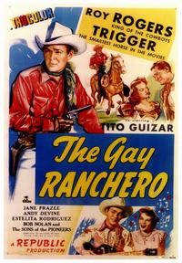 The Gay Ranchero - 43 x 62 Movie Poster - Bus Shelter Style A