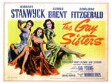 The Gay Sisters - 11 x 17 Movie Poster - Style A