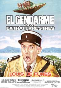 The Gendarme and the Creatures from Outer Space - 11 x 17 Movie Poster - Spanish Style A