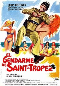 The Gendarme of St. Tropez - 27 x 40 Movie Poster - Spanish Style A