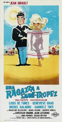 The Gendarme of St. Tropez - 13 x 28 Movie Poster - Italian Style A