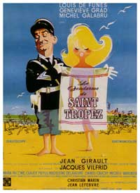 The Gendarme of St. Tropez - 27 x 40 Movie Poster - French Style A
