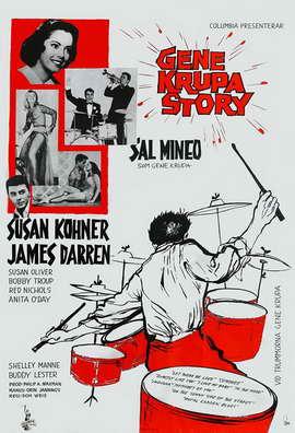 The Gene Krupa Story - 11 x 17 Movie Poster - Style B