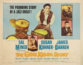 The Gene Krupa Story - 22 x 28 Movie Poster - Half Sheet Style A
