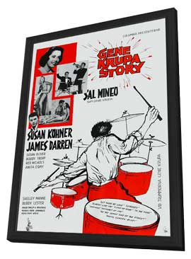 The Gene Krupa Story - 11 x 17 Movie Poster - Style B - in Deluxe Wood Frame