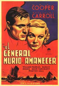 The General Died at Dawn - 11 x 17 Movie Poster - Spanish Style A