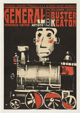 The General - 27 x 40 Movie Poster - Polish Style A
