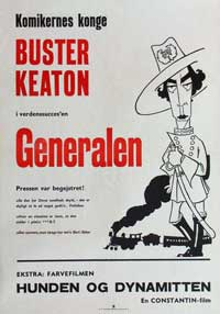 The General - 11 x 17 Movie Poster - Danish Style A