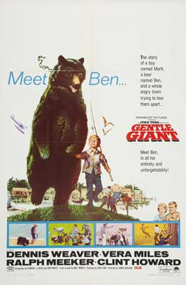 Gentle Giant - 11 x 17 Movie Poster - Style A