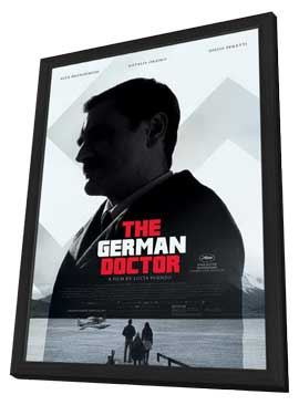 The German Doctor - 11 x 17 Movie Poster - Style A - in Deluxe Wood Frame