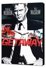 The Getaway - 27 x 40 Movie Poster - Style D - Museum Wrapped Canvas