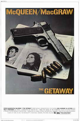 The Getaway - 11 x 17 Movie Poster - Style B