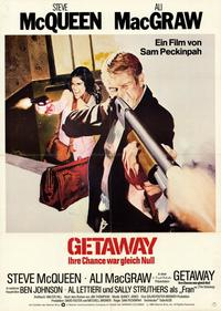 The Getaway - 11 x 17 Movie Poster - German Style A