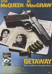 The Getaway - 11 x 17 Movie Poster - German Style B