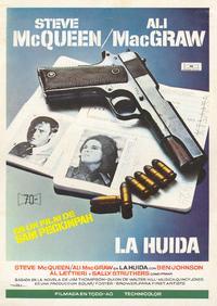 The Getaway - 11 x 17 Movie Poster - Spanish Style B