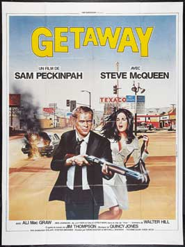 The Getaway - 27 x 40 Movie Poster - French Style A