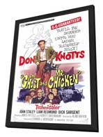 The Ghost and Mr. Chicken - 27 x 40 Movie Poster - Style A - in Deluxe Wood Frame