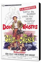 The Ghost and Mr. Chicken - 11 x 17 Movie Poster - Style A - Museum Wrapped Canvas