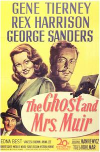 The Ghost and Mrs. Muir - 11 x 17 Movie Poster - Style A