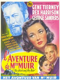 The Ghost and Mrs. Muir - 11 x 17 Poster - Foreign - Style A