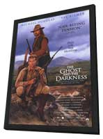 The Ghost and the Darkness - 11 x 17 Movie Poster - Style C - in Deluxe Wood Frame