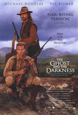 The Ghost and the Darkness - 11 x 17 Movie Poster - Style C