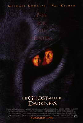 The Ghost and the Darkness - 27 x 40 Movie Poster - Style A