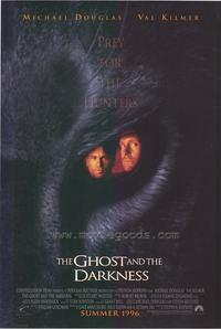 The Ghost and the Darkness - 43 x 62 Movie Poster - Bus Shelter Style A