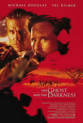 The Ghost and the Darkness - 27 x 40 Movie Poster - Style B