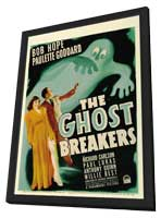 The Ghost Breakers - 27 x 40 Movie Poster - Style B - in Deluxe Wood Frame