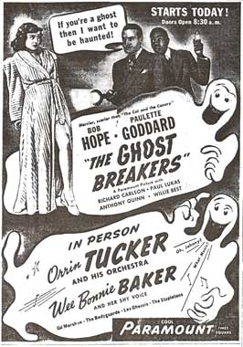 The Ghost Breakers - 27 x 40 Movie Poster - Style C