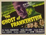The Ghost of Frankenstein - 22 x 28 Movie Poster - Half Sheet Style A