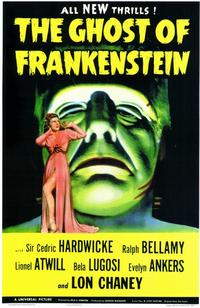 The Ghost of Frankenstein - 11 x 17 Movie Poster - Style B