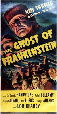 The Ghost of Frankenstein - 11 x 17 Movie Poster - Style D