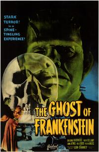 The Ghost of Frankenstein - 43 x 62 Movie Poster - Bus Shelter Style A