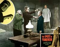 The Ghost of Frankenstein - 11 x 14 Movie Poster - Style B