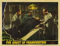 The Ghost of Frankenstein - 11 x 14 Movie Poster - Style C
