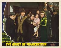 The Ghost of Frankenstein - 11 x 14 Movie Poster - Style D
