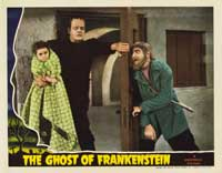 The Ghost of Frankenstein - 11 x 14 Movie Poster - Style E