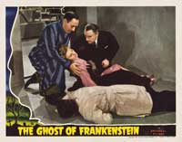 The Ghost of Frankenstein - 11 x 14 Movie Poster - Style F