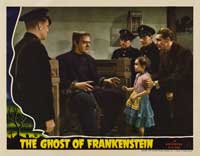 The Ghost of Frankenstein - 11 x 14 Movie Poster - Style I