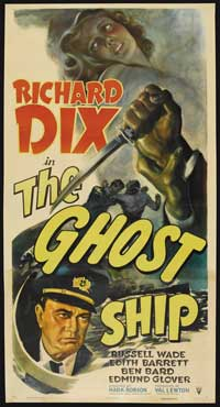 The Ghost Ship - 41 x 81 3 Sheet Movie Poster - Style A