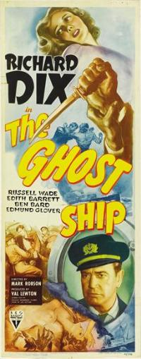 The Ghost Ship - 14 x 36 Movie Poster - Insert Style A