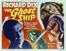 The Ghost Ship - 11 x 14 Movie Poster - Style F